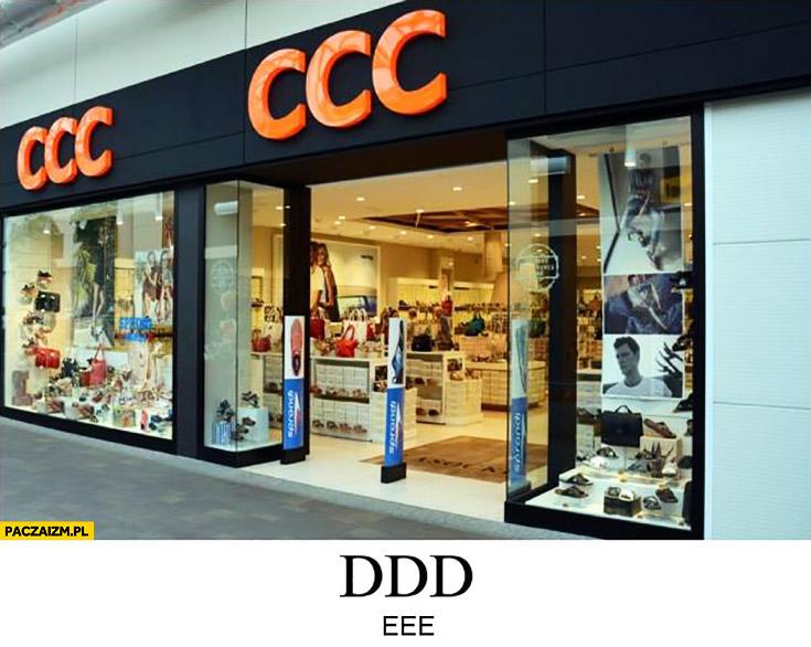 CCC sklep DDD EEE