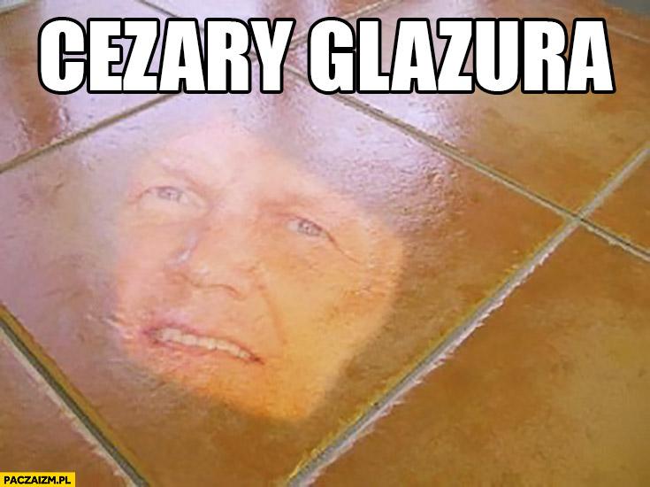 Cezary glazura Cezary Pazura płytki podłogowe