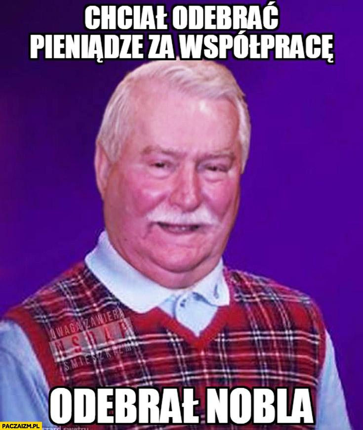 Chciał odebrać pieniądze za współpracę odebrał nobla Wałęsa TW Bolek