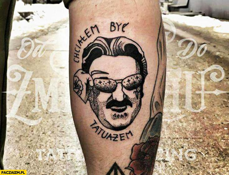 Chciałem być tatuażem Krzysztof Krawczyk tatuaż