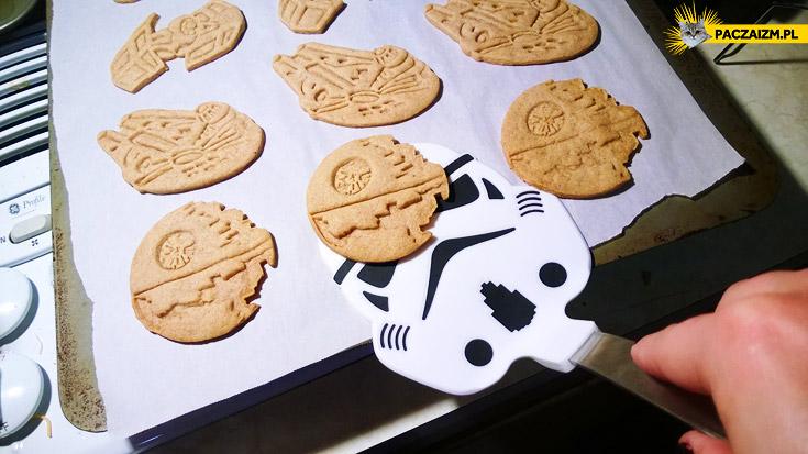 Ciasteczka Gwiezdne Wojny