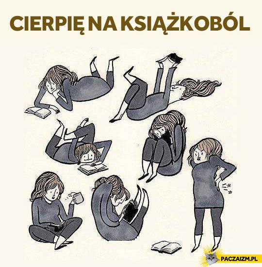 Cierpię na książkoból