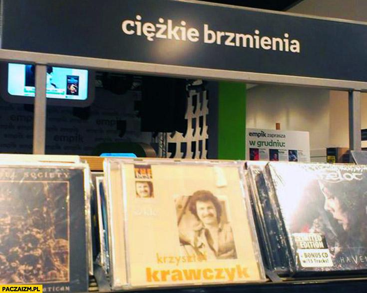 Ciężkie brzmienia Krzysztof Krawczyk empik