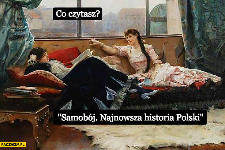 Co czytasz? Samobój. Najnowsza historia polski