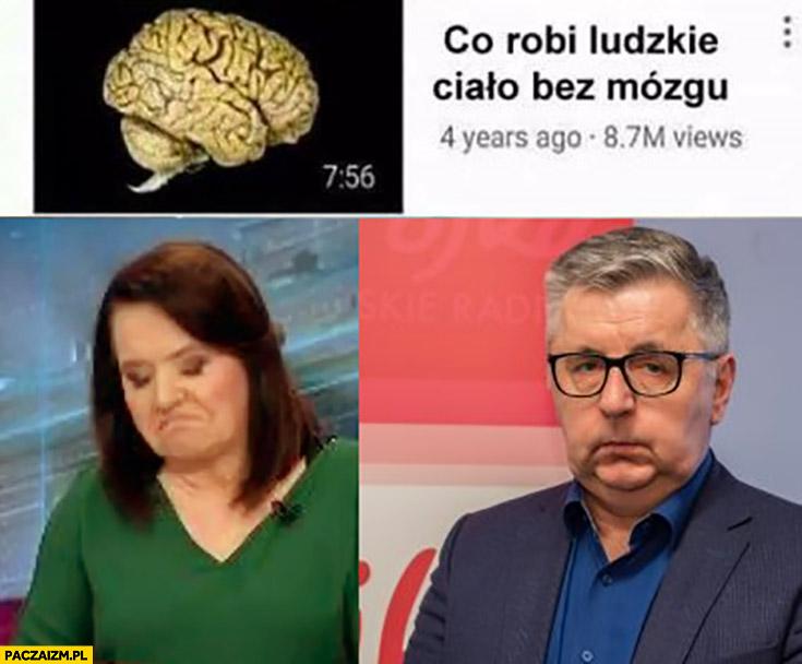 Co robi ludzkie ciało bez mózgu Danuta Holecka Tomasz Kowalczewski Trójka