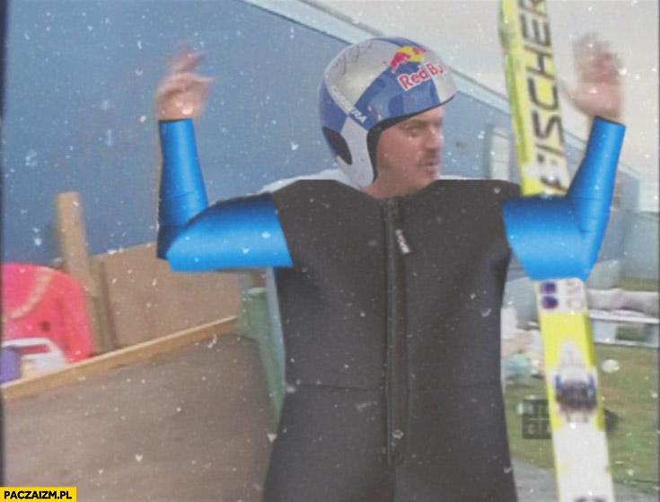 Co za pojechana akcja skoki narciarskie Chłopaki z baraków