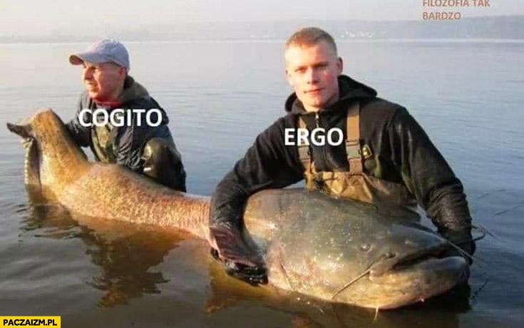 Cogito ergo sum ryba sum