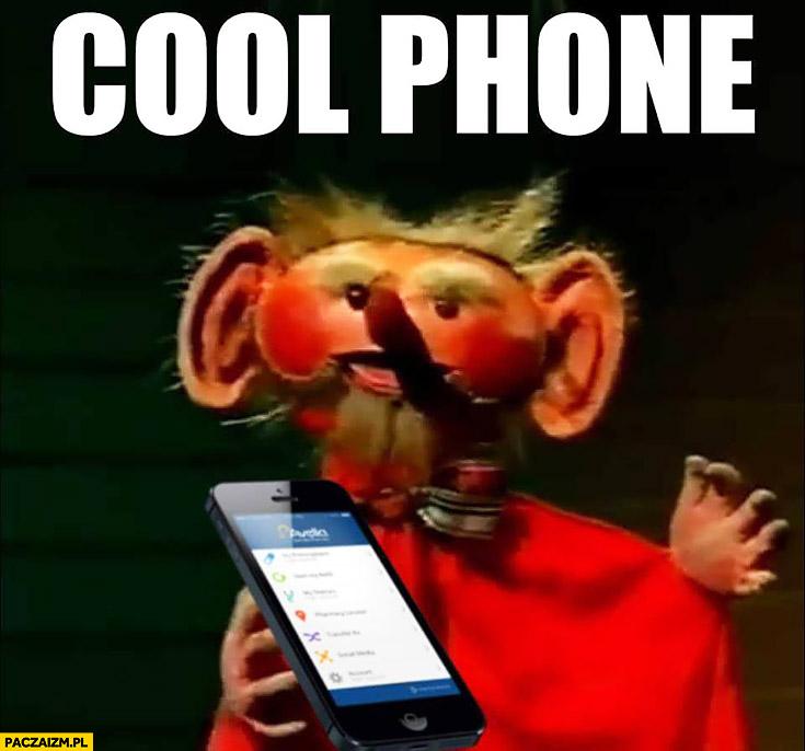 Cool phone Kulfon gra słów