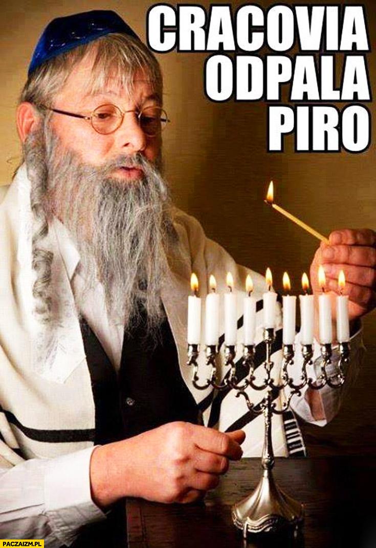 Cracovia odpala piro Żyd
