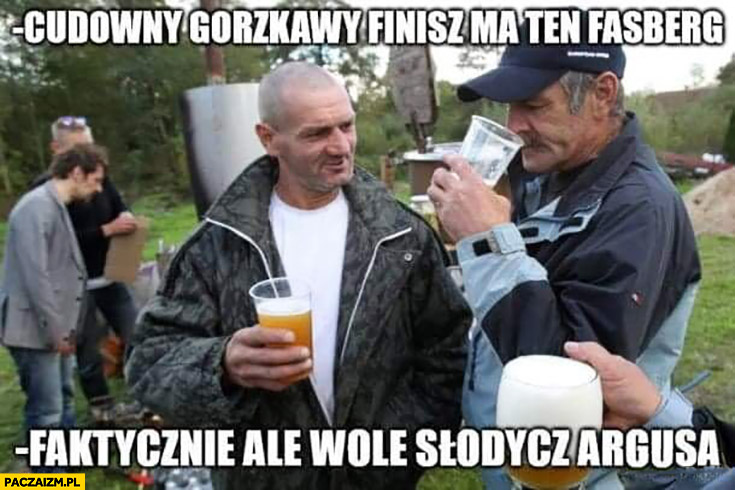 Cudowny gorzkawy finisz ma ten Fasberg, faktycznie ale wolę słodycz Argusa tanie piwa piwo piwosze
