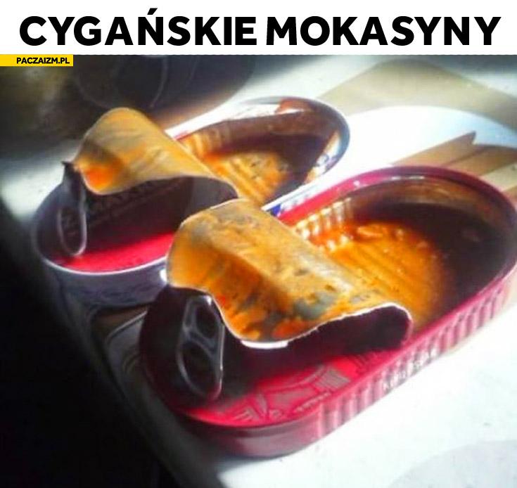 Cygańskie mokasyny konserwy