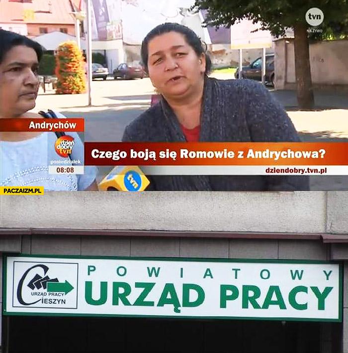 Czego boją się Romowie z Andrychowa? Urzad Pracy