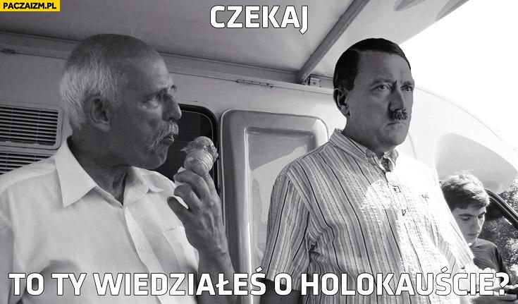 Czekaj to Ty wiedziałeś o holokauście? Korwin hitler