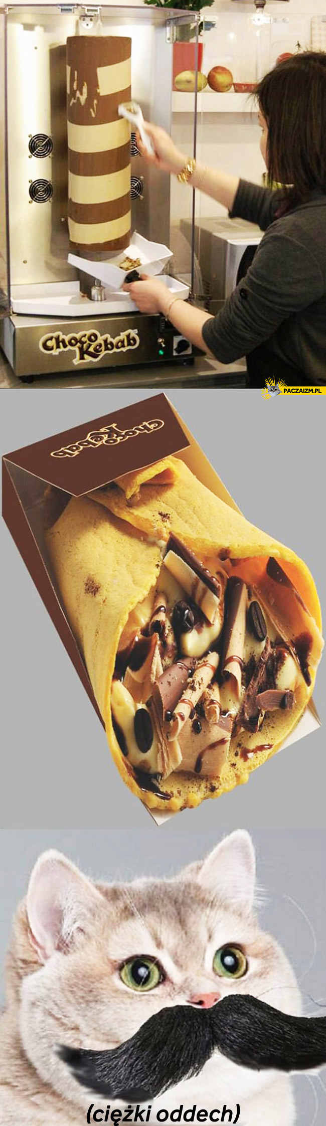 Czekoladowy kebab