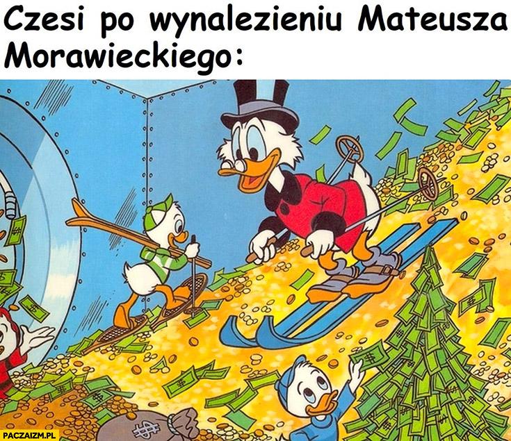 Czesi po wynalezieniu Mateusza Morawieckiego sknerus McKwacz skarbiec
