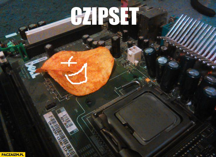 Czipset czips chipset płyta główna