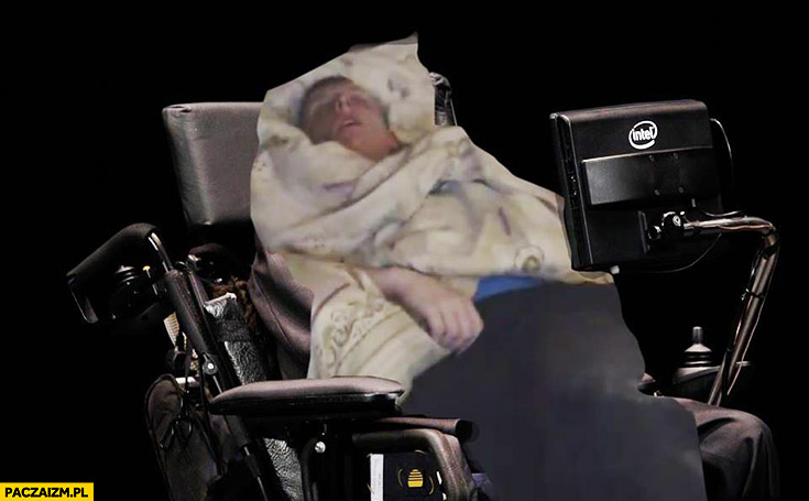 Daniel Magical jak Stephen Hawking przeróbka