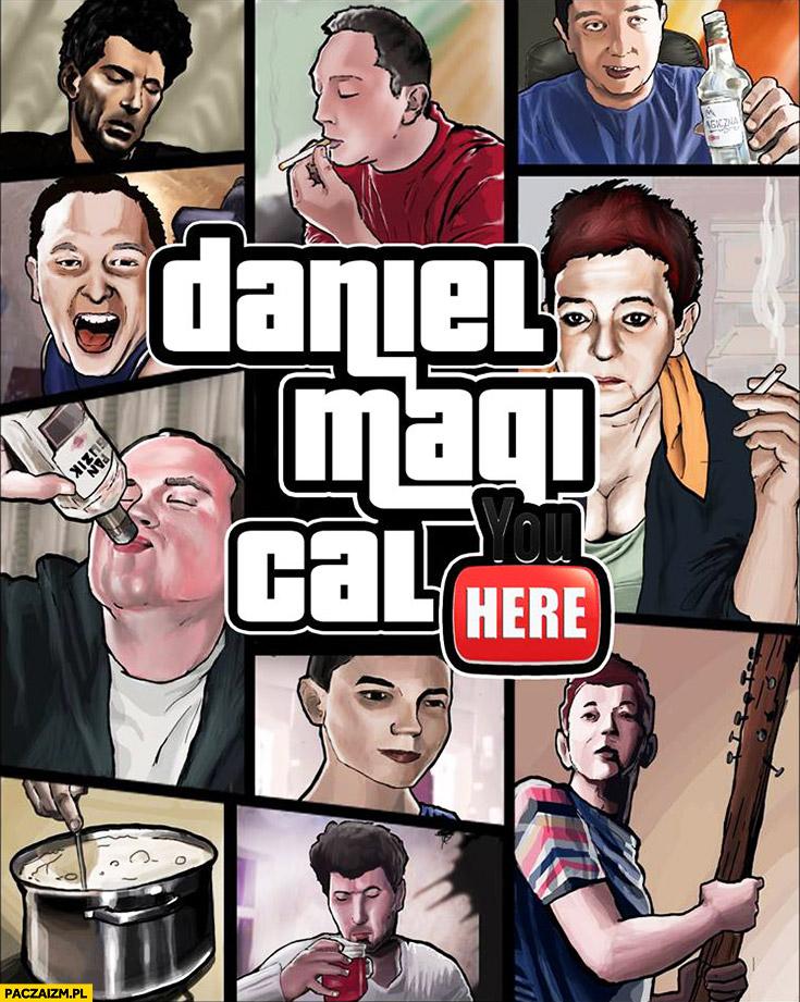 Daniel Magical okładka GTA Grand Theft Auto przeróbka