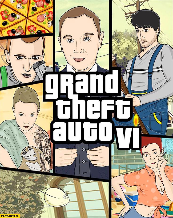 Daniel Magical przeróbka okładka GTA Grand Theft Auto