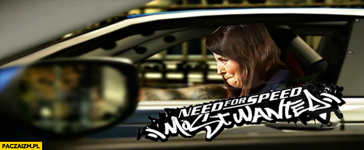Danuta Holecka Need for speed most wanted przeróbka