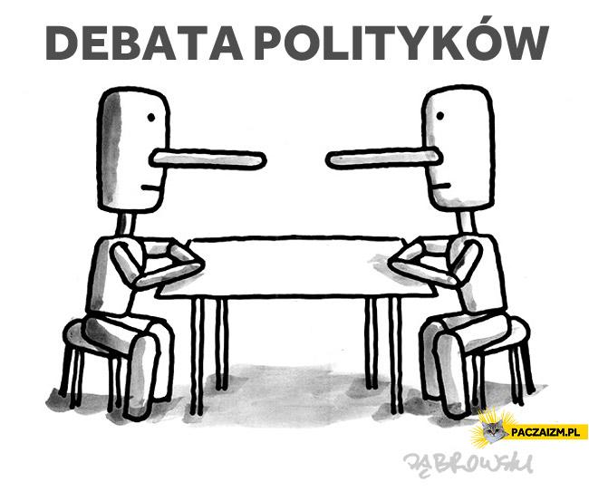Debata polityków
