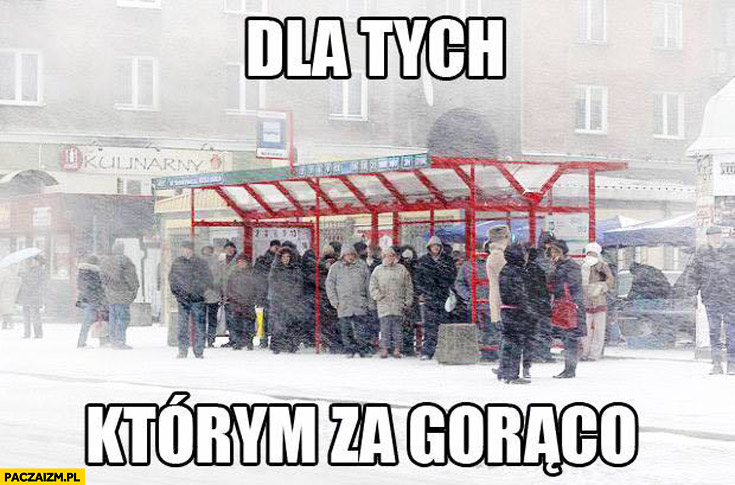 Dla tych którym za gorąco zamieć śnieg w Polsce