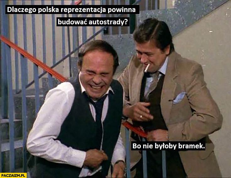 Dlaczego Polska reprezentacja powinna budować autostrady? Bo nie byłoby bramek Alternatywy 4