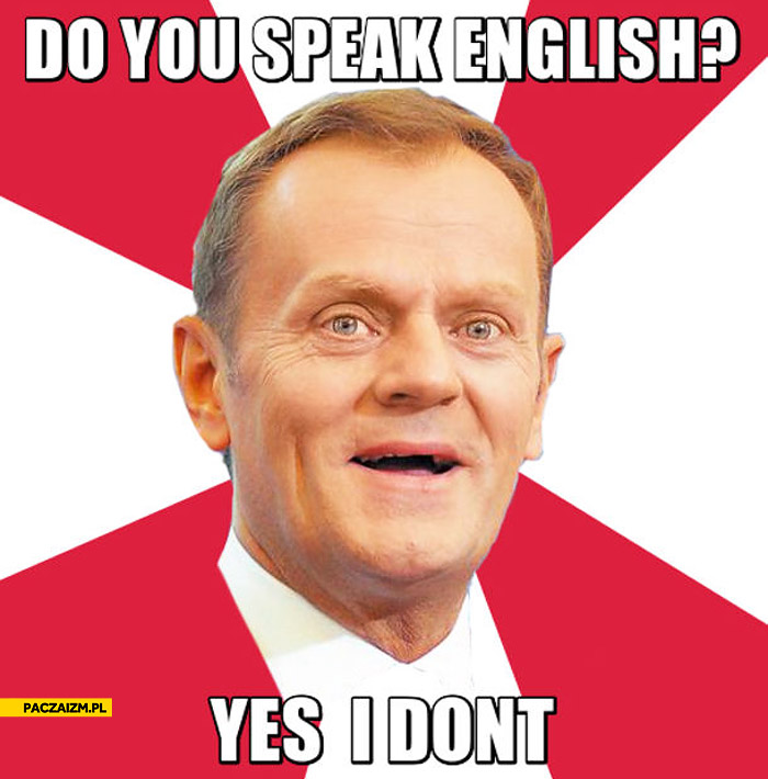 i don t know how to speak english