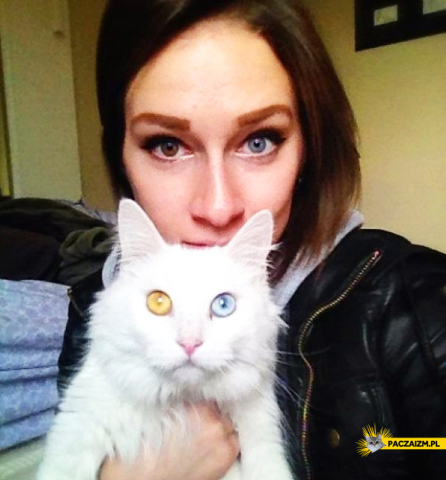 Dobrali się kolorem oczu