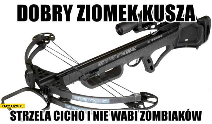 Dobry ziomek kusza strzela cicho i nie wabi zombiaków