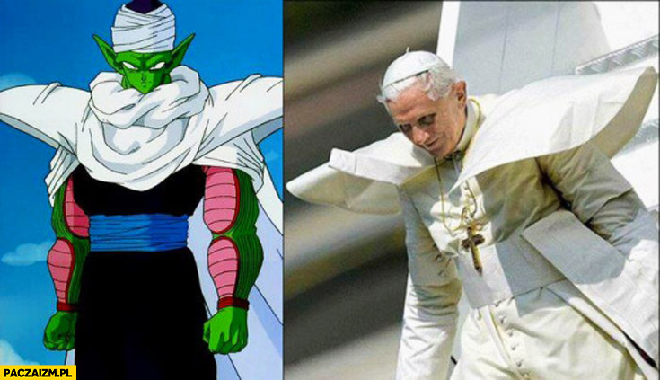 Dragon Ball Piccolo Papież Benedykt
