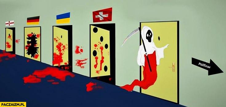 Droga Polski do półfinału śmierć zagląda do kolejnych drzwi Euro 2016
