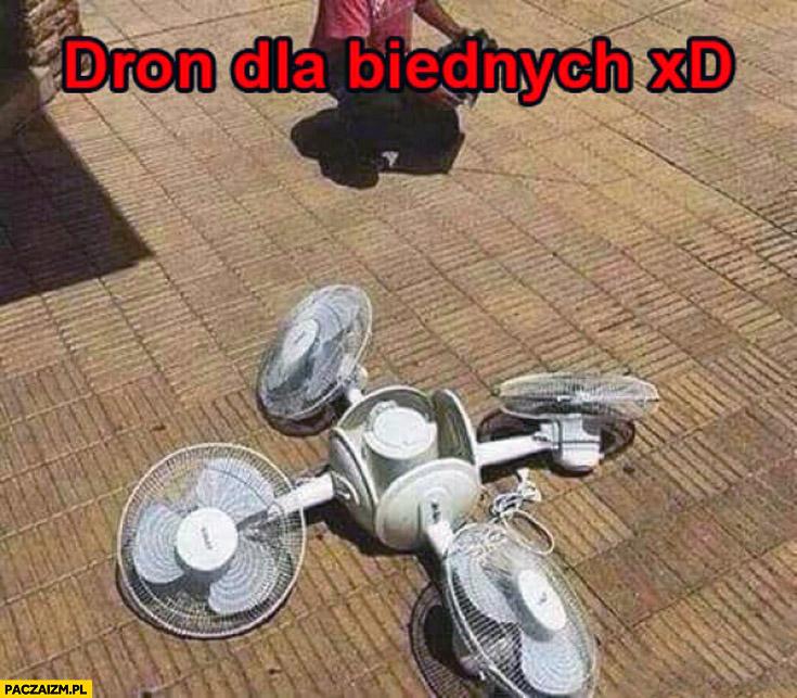 Dron dla biednych