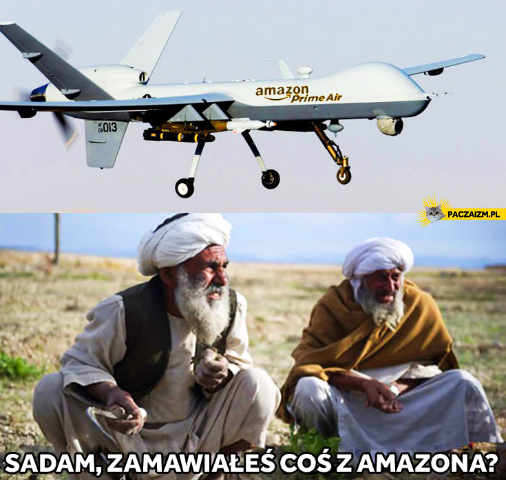 Drony Amazona