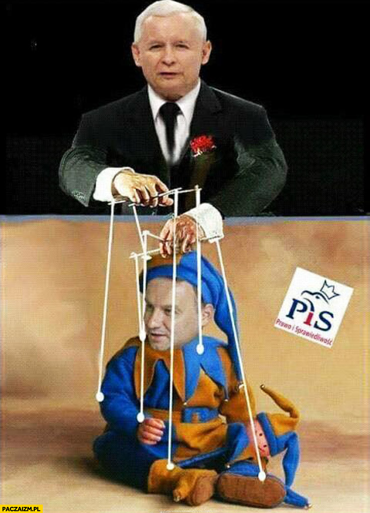 Duda Kaczyński marionetka PiS