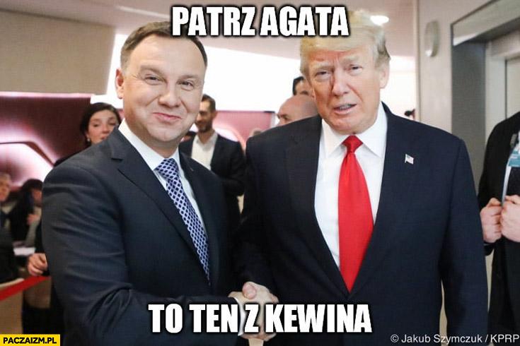 Duda z Trumpem patrz Agata to ten z Kevina. Kewin sam w domu Nowym Jorku