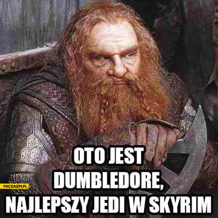 Dumbledore najlepszy jedi w Skyrim