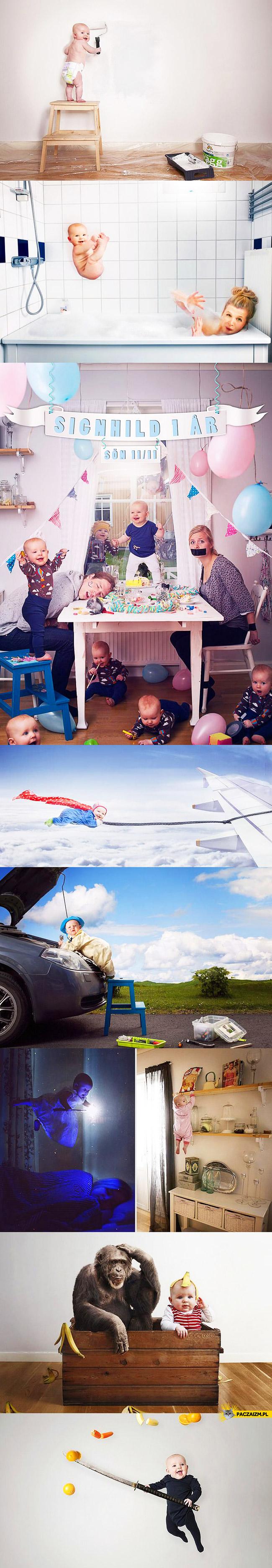 Dzieci po photoshopie