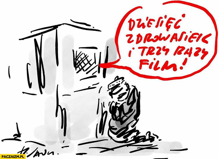 Dziesięć zdrowasiek i trzy razy film Smoleńsk spowiedź w konfesjonale