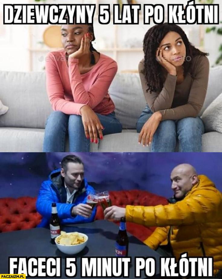 Dziewczyny 5 lat po kłótni vs faceci 5 minut po kłótni Stanowski Najman