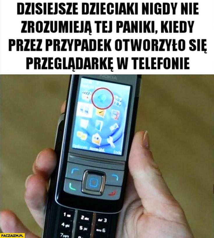 Dzisiejsze dzieciaki nigdy nie zrozumieją tej paniki kiedy przez przypadek otworzyło się przeglądarkę internetowa w telefonie wysokie opłaty za transfer