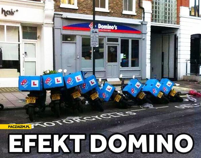 Efekt Domino pizza
