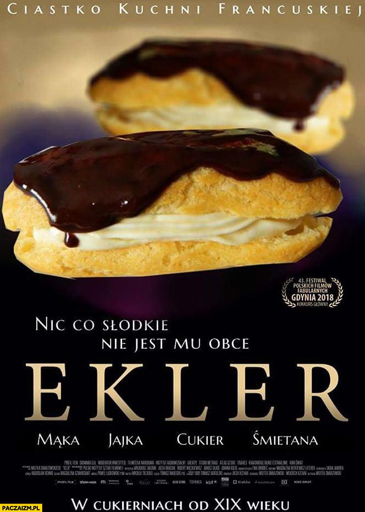 Ekler Kler przeróbka plakatu filmu
