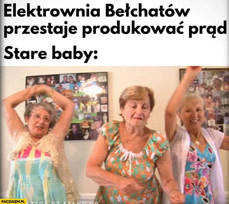 Elektrownia Bełchatów przestaje produkować prąd stare baby świętują