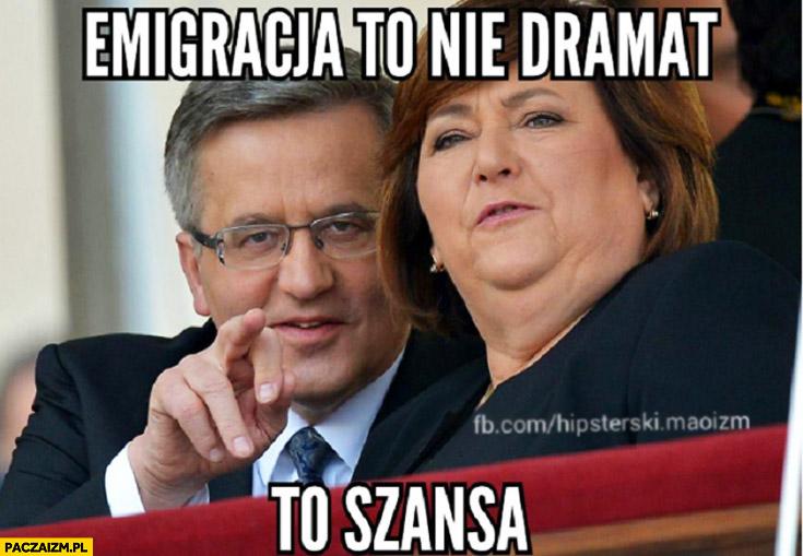 Emigracja to nie dramat to szansa