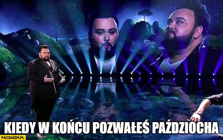 Eurowizja kiedy w końcu pozwałeś Paździocha Świat według Kiepskich Kiepscy