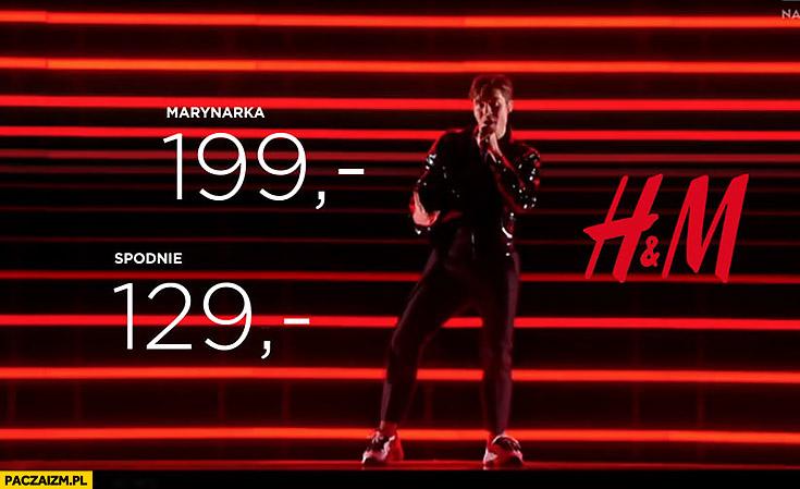 Eurowizja reklama H&M przeróbka