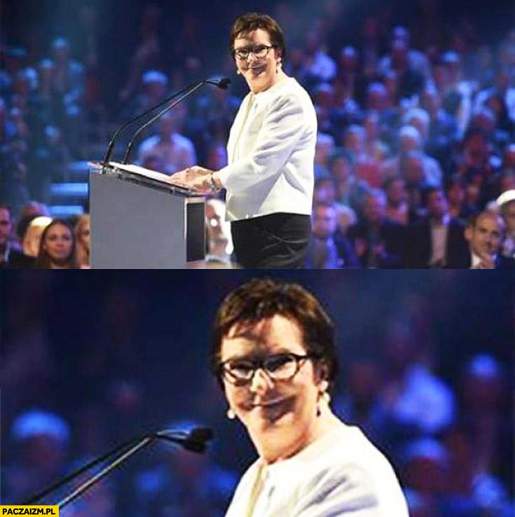 Ewa Kopacz jak Joker
