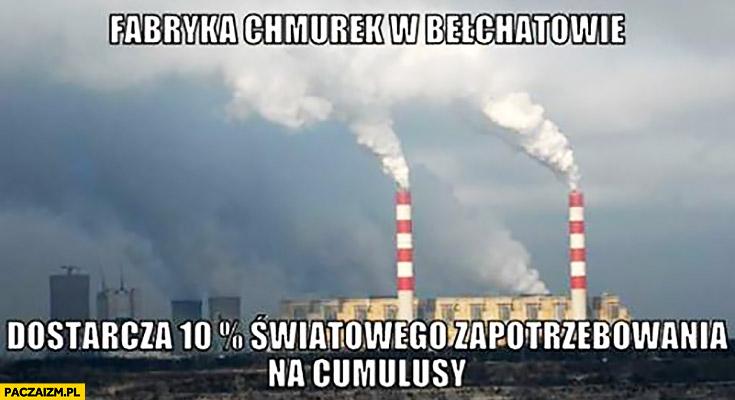 Fabryka chmurek w Bełchatowie dostarcza 10% procent światowego zapotrzebowania na cumulusy