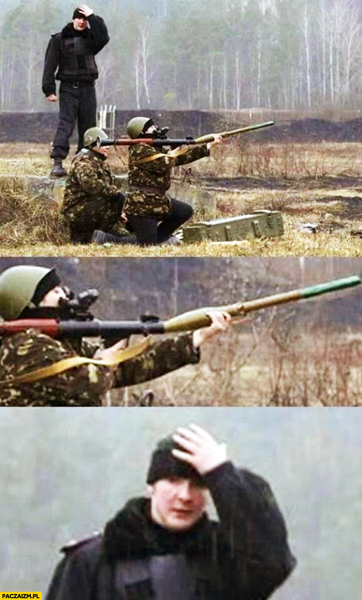 Fail ładowanie rakiety wojsko